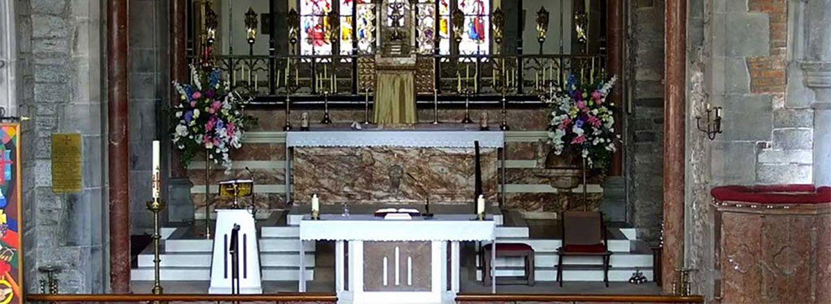 Adare Church Altar